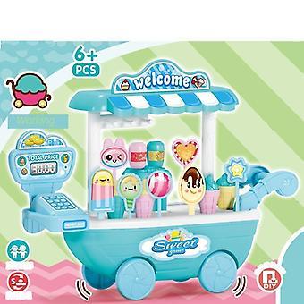 Ice Cream, Cart,candy Kitchen