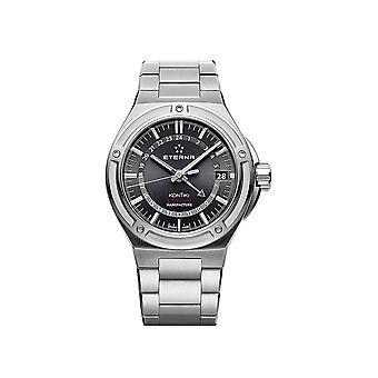 Luxury Auto Royal Eterna KonTiki GMT Black Watch for Men 7740.41.41.0280