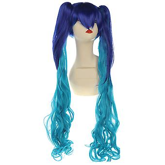 Tiger Claw Bunches Anime Wig Blue