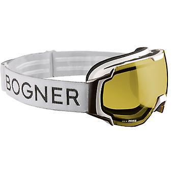 Bogner Ski Mask Just-B Polarized White Ruthenium Photochromic 2-4
