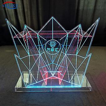 Acrylic Led Mesa de Disco Luces Coloridas