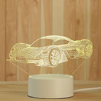 Creative 3d Night Lamp, Acrylic Desktop Nightlight, And Holiday, Decorative