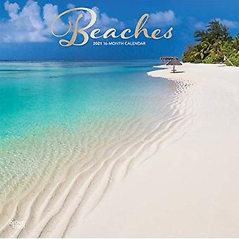 Beaches 2021 Square Foil Calendar by Browntrout