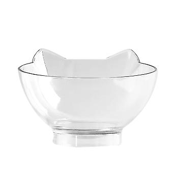 Non-slip Double Cat Bowl With Raised Stand, Pet Water Pot