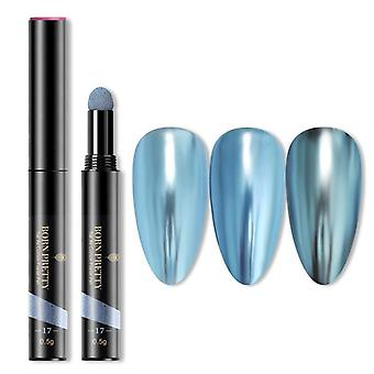 Mirror Laser Nail Glitter Powders, Auroras Art Chrome Pigment Dust