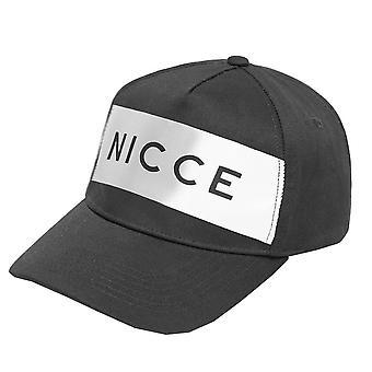 Nicce London   Atla Reflective Baseball Cap - Black