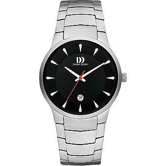 Dansk Design Bogo Watch - Silver/Svart
