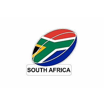 Sticker car sticker flag flag football South Africa