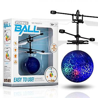 Electric Flying Ball Toy, Helicopter Led Light, Quadcopter, Infrared Sensor