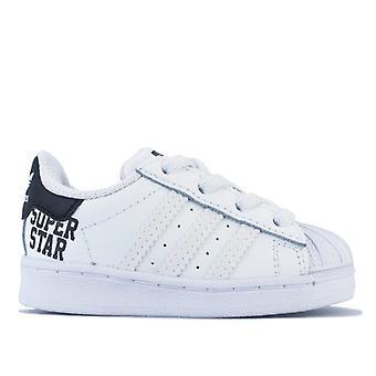 Boy's adidas Originals Infant Superstar Trainers in White