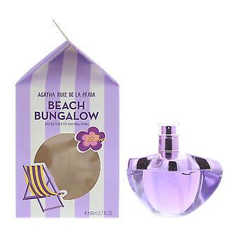 Agatha Ruiz de la Prada Crazy Florever Beach Bungalow Eau de Toilette 80ml Spray