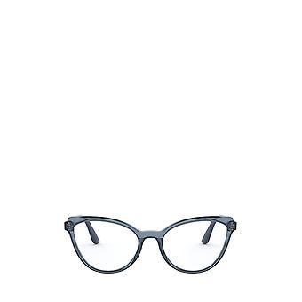 Vogue VO5291 top transparent blue / blue female eyeglasses