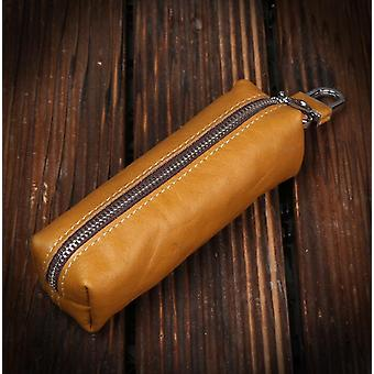 Genuine Cow Leather Key Bag/ Keychain Wallet