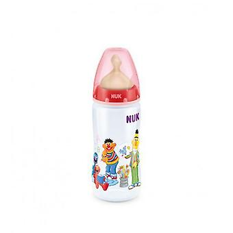 Nuk Sesame Street Baby Bottle Teat latex from 0 to 6 Months 300 ml