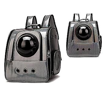 Outing Foldable Pet Backpack Transparent Space Bag Pet Supplies