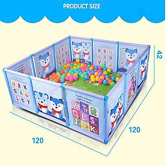 Kids Plastic Game Fence Large Space Safety Guardrail For Newborn Crawling