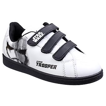 Star Wars Childrens Boys Stormtrooper Trainers