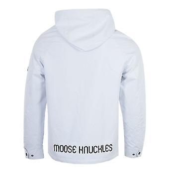 Moose Knuckles Rider Rain Jacket - White