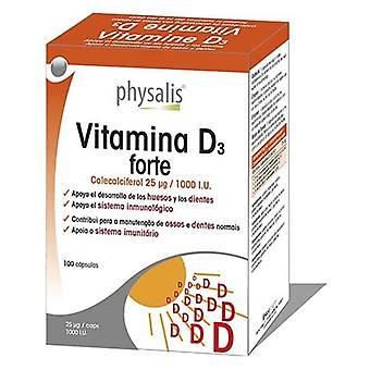Physalis Vitamina D3 Forte 100 Cápsulas