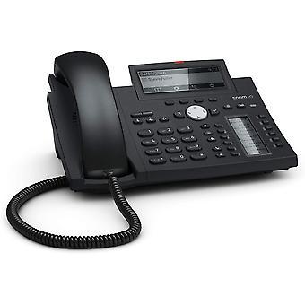 HanFei D345 IP Telefon, SIP Tischtelefon (hochauflsendes Display, 12 SIP-Identitten, 12 (48)