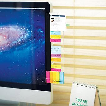 Itseliimautuva akryyli tietokoneen valvonta viestimuistio muistiinpanot välilehdet