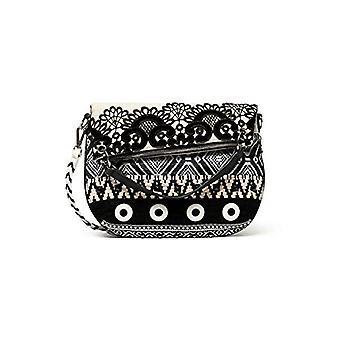 Desigual Bols_Black Hvit Folded - Kvinners crossbody bag, farge: Hvit