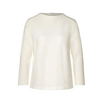 Street One 315497 T-Shirt, Dirty White, 40 Woman