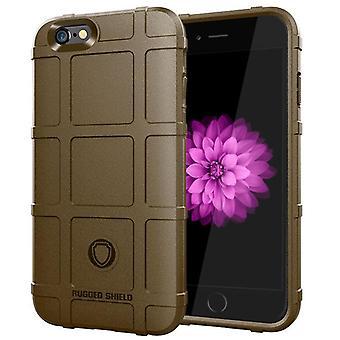 Obudowa z włókna węglowego Tpu do iPhone'a 6 plus brązowy mfkj-1789