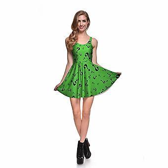 Digital udskrivning af gåden Reversibel skater kjole