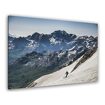 Deska górska dla narciarzy
