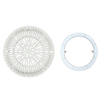 "Custom 25548-000-000 8 ""Galaxy couvercle & Ring Kit - blanc"