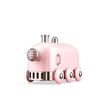 300ml Ultrasonic Humidifier Retro Mini Train USB Aroma Air Diffuser With Color LED Light Humidifiers