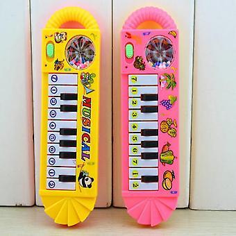 Petits enfants portables Piano Musique Toy Couleur aléatoire Sondage Clavier Piano Bébé