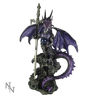 Dragon With Blade Letter Opener