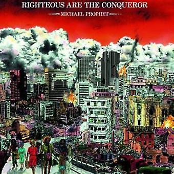 Michael Prophet - Righteous Are the Conqueror [Vinyl] USA import