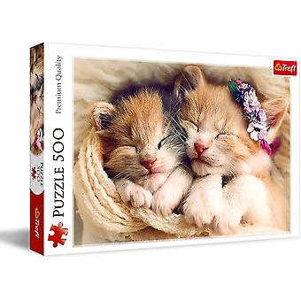 Sleeping Kittens Jigsaw Puzzle - 500 Pieces