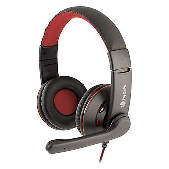 Écouteur de jeu avec microphone NGS VOX420DJ PC, PS4, XBOX, Smartphone Noir