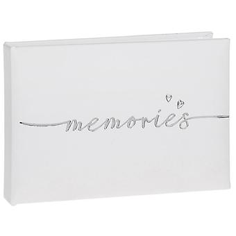 Modern Script Memories Album Small 6x4
