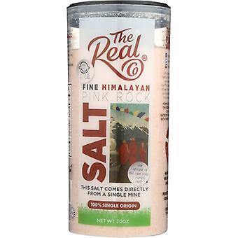 Real Co Shaker Salt Hmlayan Pink, Case of 6 X 20 Oz