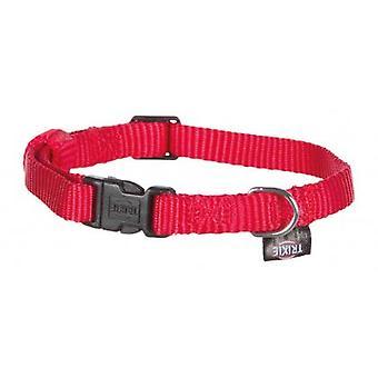 Trixie Col en nylon rouge classique (Chiens , Colliers, laisses et harnais , Colliers)