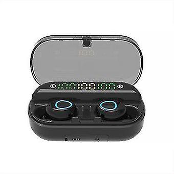 V10 TWS Wireless bluetooth 5.0 Earphone HiFi 9D Stereo Portable
