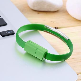 Soft Wristband Micro Usb 2.0 Cable Bracelet Data Charging Line For Android