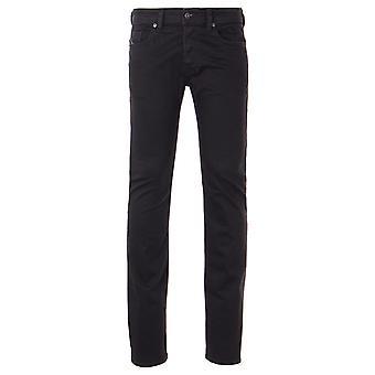 Diesel Safado Straight Fit Jeans - Black