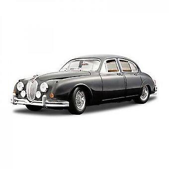 Burago Jaguar Mark Ii 1959 Metal Miniature Car On The Scale 1 / 18th