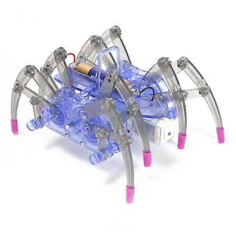 Solar Electric Spider Robot Hands-on Assembly Teaching Aids