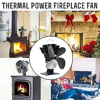 Winter warme warmte aangedreven hout gestookte brander mini kachel tops ventilator thermostaat