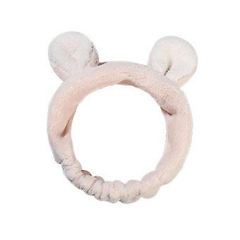 Hair Band For Washing Face(Pink)