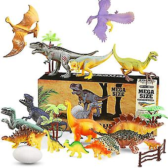 واقعية 23pcs لعبة ديناصور