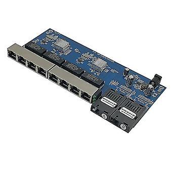 Reverse Poe Ethernet Switch Media Converter Fiber Optical Utp Port