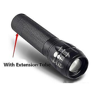 Q5 240Lumens 3Modes Outdooors Fiets EDC LED Zaklamp 18650/AAA